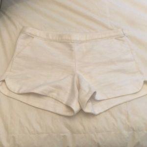 Lily pulitzer white Adie shorts